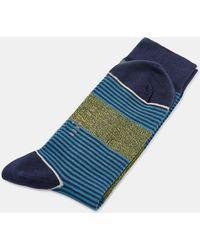 Ted Baker - Multi Patterned Cotton Socks - Lyst