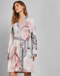 Ted Baker - Porcelain Rose Dressing Gown - Lyst