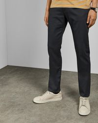 762967a29292 Ted Baker - Straight Fit Denim Jeans - Lyst