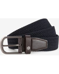 Ted Baker Woven Elastic Belt - Purple