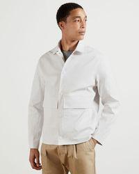 Ted Baker Chore Jacket - White