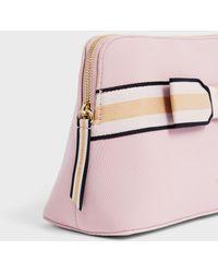 Ted Baker Branded Webbing Neoprene Wash Bag - Pink