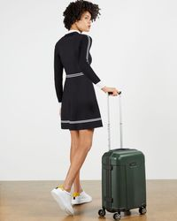 Ted Baker Wheeled Trolley Suitcase - Multicolor