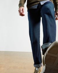 Ted Baker Gerade Jeans - Blau