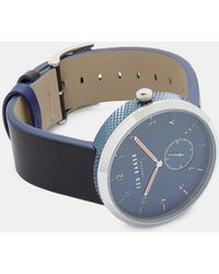 Ted Baker - Metal Strap Watch Te50011007 - Lyst