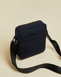Ted Baker Hekter Nylon Flight Bag - Blue