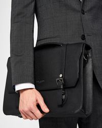 Ted Baker - Leather Satchel - Lyst
