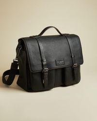 Ted Baker Leather Satchel - Black