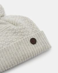 Ted Baker - Multi Stitch Cashmere Hat - Lyst