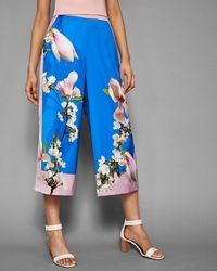 Ted Baker - Harmony Wide Leg Culottes - Lyst