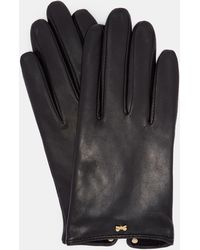 Ted Baker - Bow Detail Leather Glove - Lyst