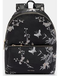 Ted Baker - Orient Jacquard Backpack - Lyst