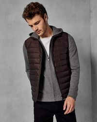 Ted Baker - Quilted Gilet - Lyst