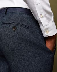 d3467f603f37 Lyst - Men s Ted Baker Trousers Online Sale