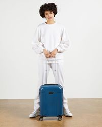 Ted Baker Wheeled Trolley Suitcase - Blue