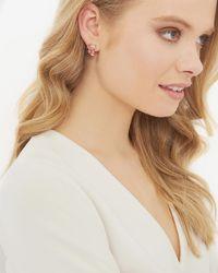 Ted Baker - Crystal Baguette Earrings - Lyst