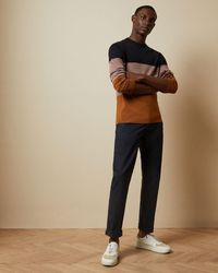 Ted Baker Slim Fit Chinos - Blue