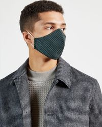 Ted Baker Printed Face Mask - Gray