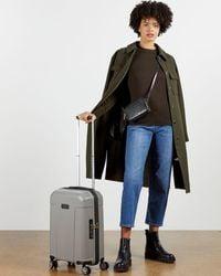 Ted Baker Wheeled Trolley Suitcase - Grau