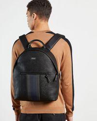 Ted Baker Webbing Backpack - Black
