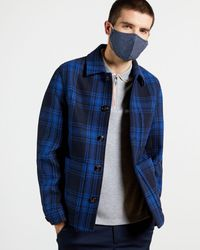 Ted Baker Printed Face Mask - Blue