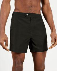 Ted Baker Plain Core Swimshort - Black