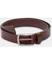 Ted Baker Leather Belt - Red