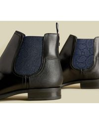 Ted Baker Leather Chelsea Boots - Negro