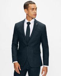 Ted Baker Slim Fit Suit Jacket - Blue