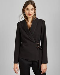 Ted Baker - D-ring Tailored Jacket - Lyst