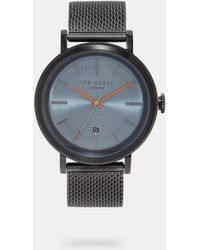 Ted Baker - 15062008 Mens Round Face Watch - Lyst