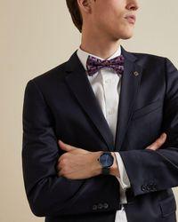 Ted Baker Mesh Bracelet Watch - Blue
