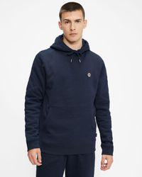 Ted Baker Ls Hooded Sweatshirt - Blue