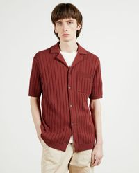 Ted Baker Knitted Shirt - Pink