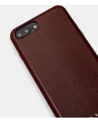 Ted Baker Iphone 6/7/8 Plus-hülle Aus Leder - Mehrfarbig