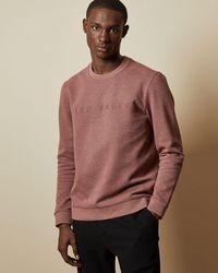 Ted Baker Branded Sweatshirt - Pink