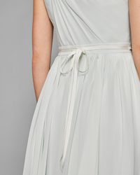 388abc9fb Ted Baker - Skinny Embellished Bridal Belt - Lyst