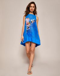 Ted Baker - Harmony Tunic Cover-up - Lyst