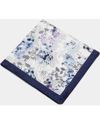 Ted Baker - Floral Silk Pocket Square - Lyst
