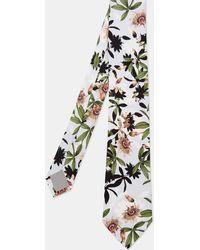 Ted Baker - Flower Print Silk Tie - Lyst