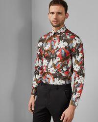 d36d0b82245d Ted Baker Shirts - Men's Casual, Formal & Denim Shirts Online Sale - Lyst