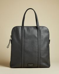 Ted Baker - Core Leather Tote - Lyst