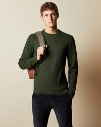Ted Baker Knitted Jumper - Green