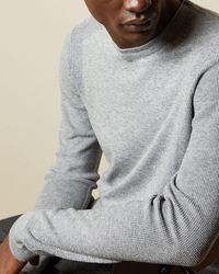 Ted Baker Knitted Sweater - Gray
