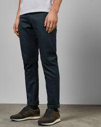 Ted Baker Tailored Straight Leg Jeans - Blue