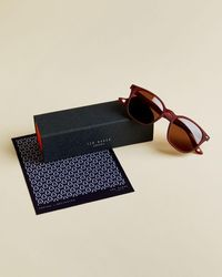 Ted Baker Rounded Sunglasses - Multicolour