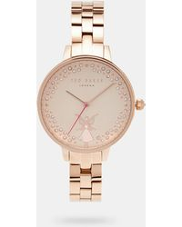 Ted Baker - Crystal Fairy Watch - Lyst