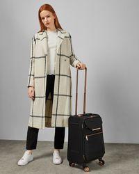 Ted Baker Metallic Trim Small Suitcase - Black