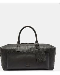 Ted Baker - Payz Embossed Leather Holdall - Lyst
