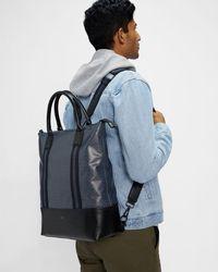 Ted Baker T Print Backpack - Blue
